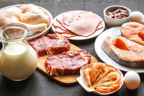 meat, fresh salmon, steak, eggs, organic eggs, nutrition plan, how to build a nutrition plan, whey protein eiweiss, organic chicken, huhn,
