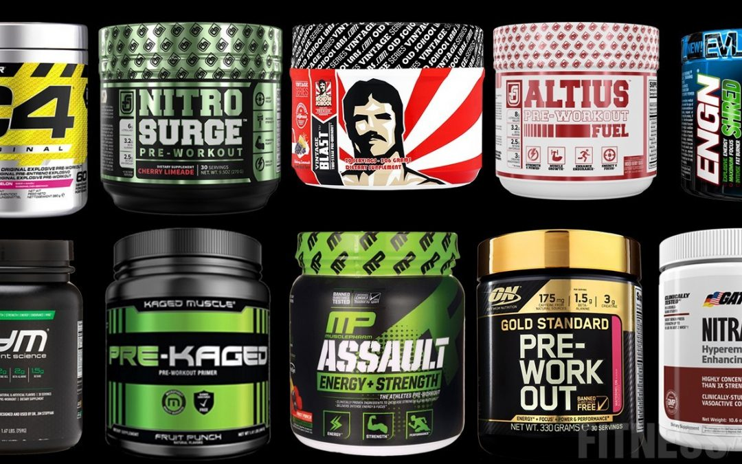 12 Strongest Pre-Workout Supplements In 2020